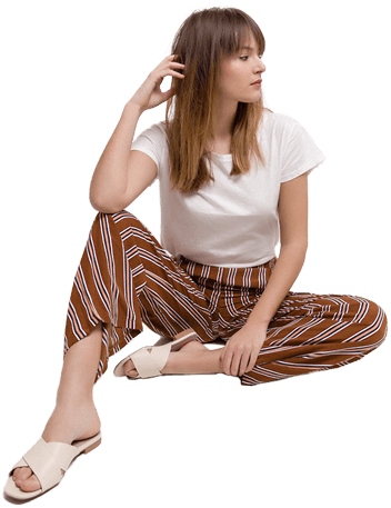Dámske elegantné nohavice Rouzit