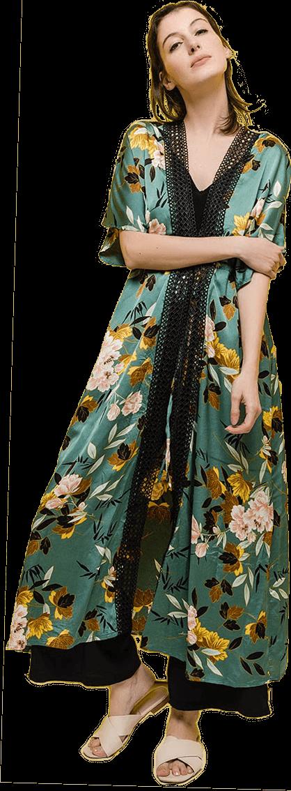 Dámske kimoná