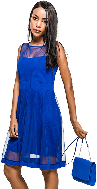 Dámske spoločenské šaty Rouzit
