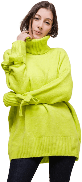 Dámske oblečenie - svetre na voľný čas