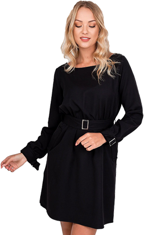 Elegantné malé čierne šaty