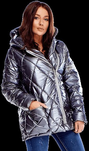 Prechodná prešívaná dámska bunda