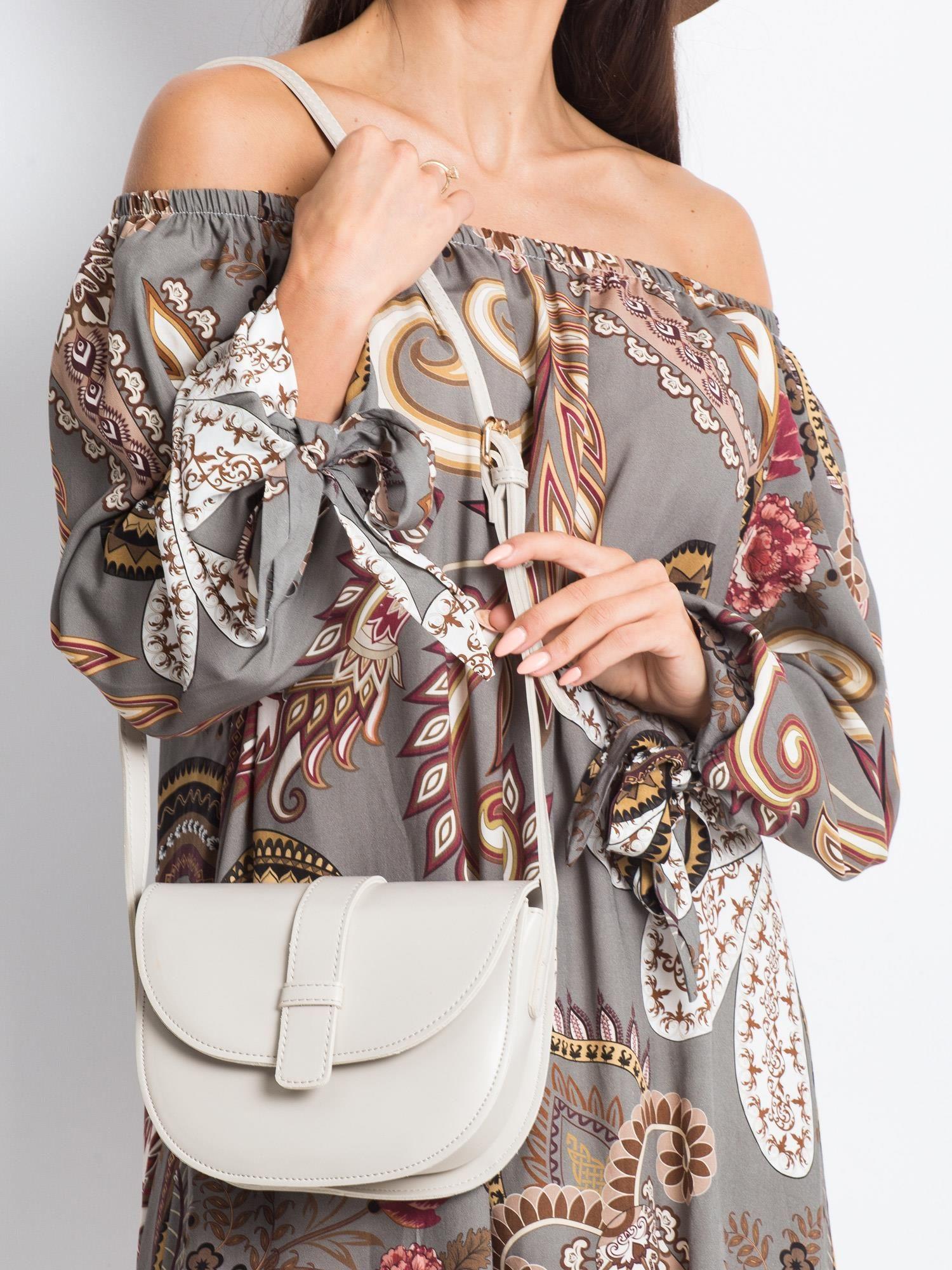 Malá béžová kabelka na rameno - UNI