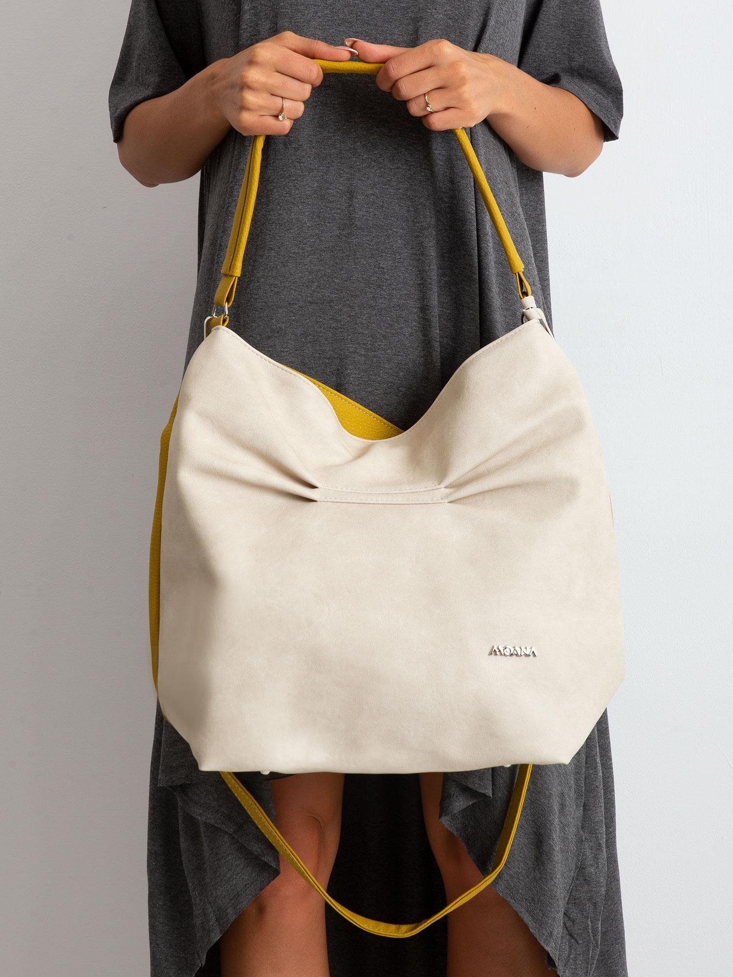 Dámska veľká dvojfarebná taška - UNI