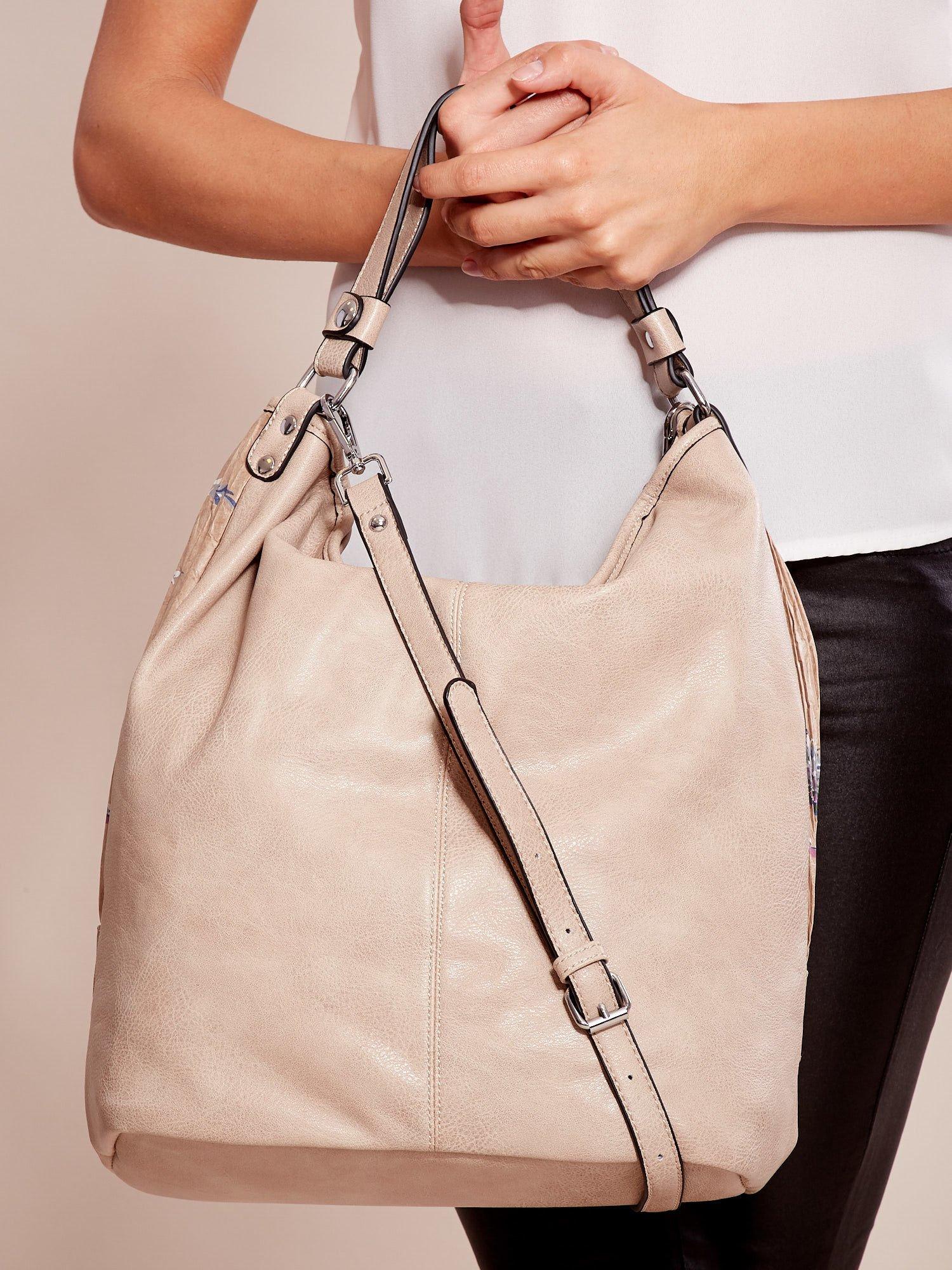 Orientálna béžová kabelka na rameno - UNI