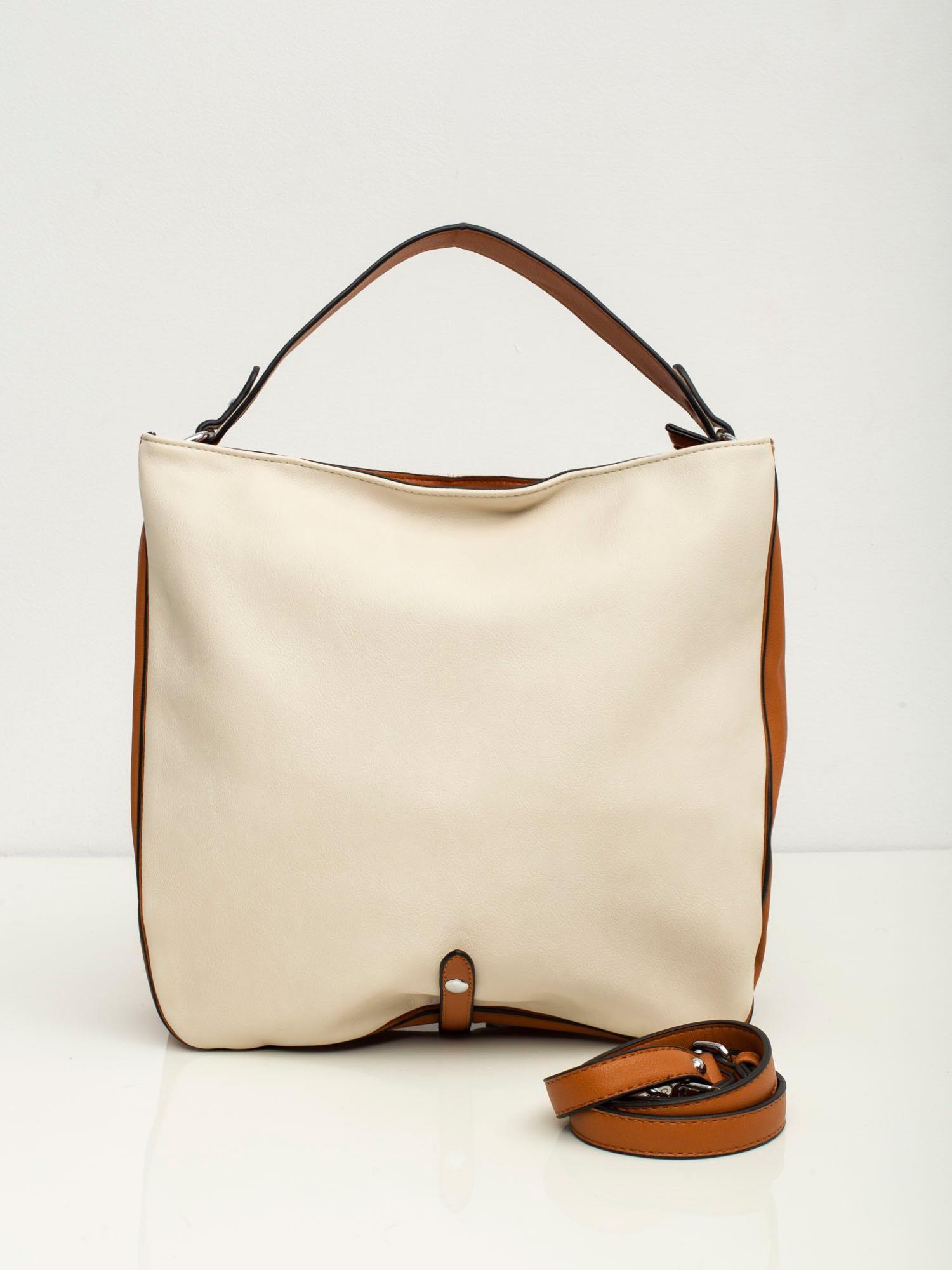 Béžová kabelka na rameno - UNI