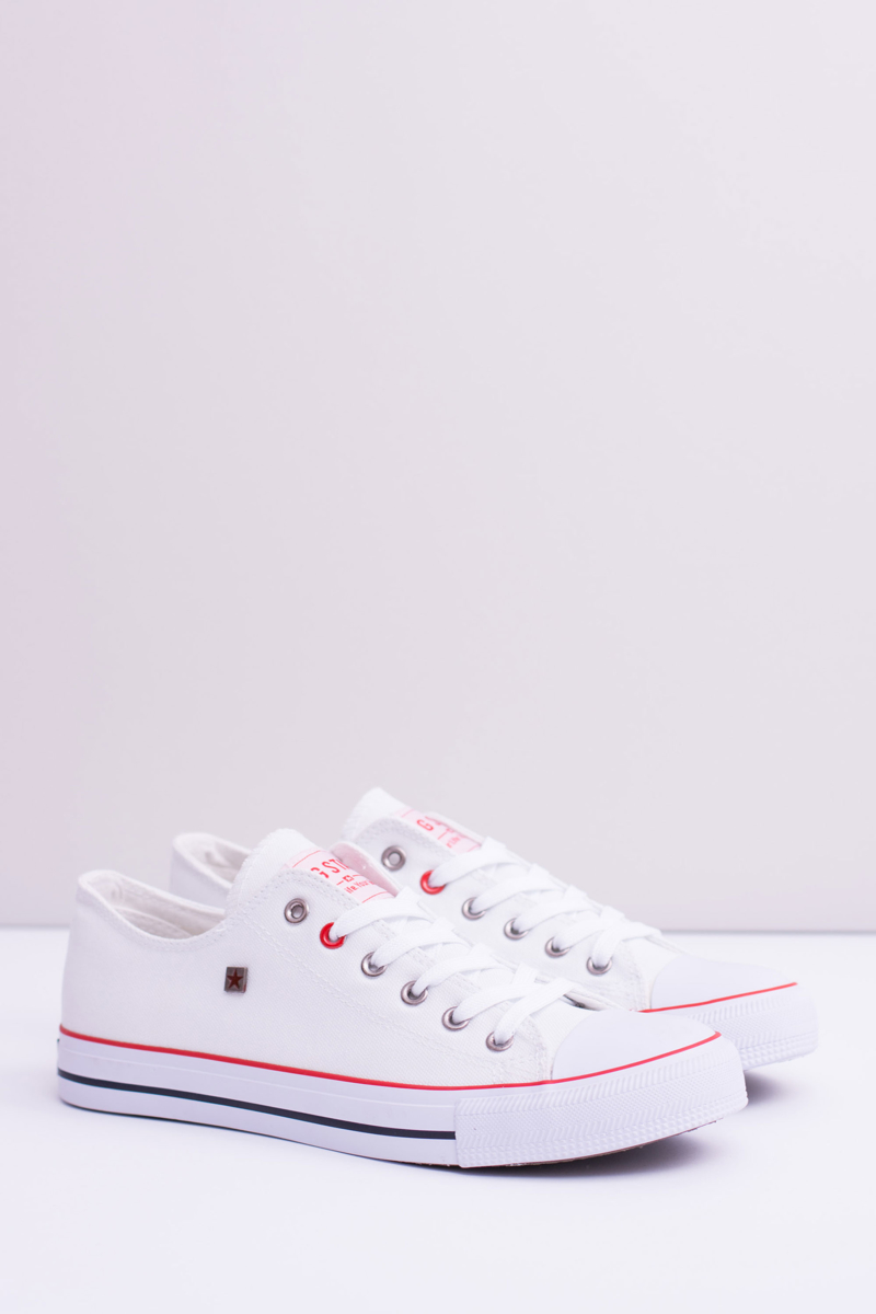Klasické tenisky v bielej farbe - 41