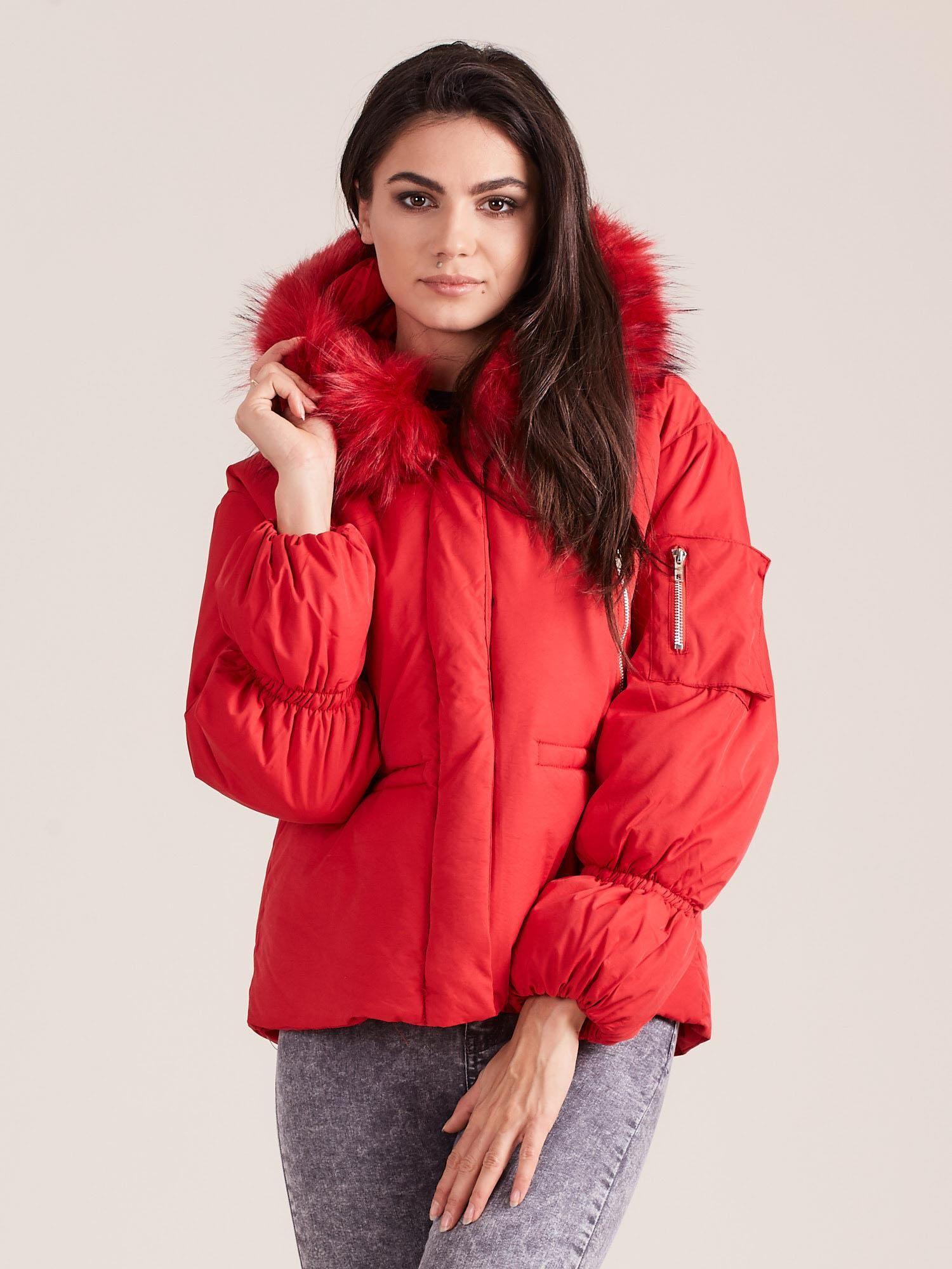 Teplá zimná bunda - M