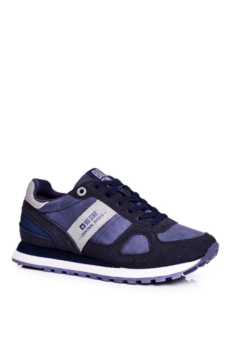 Dámske modré semišové tenisky - 39