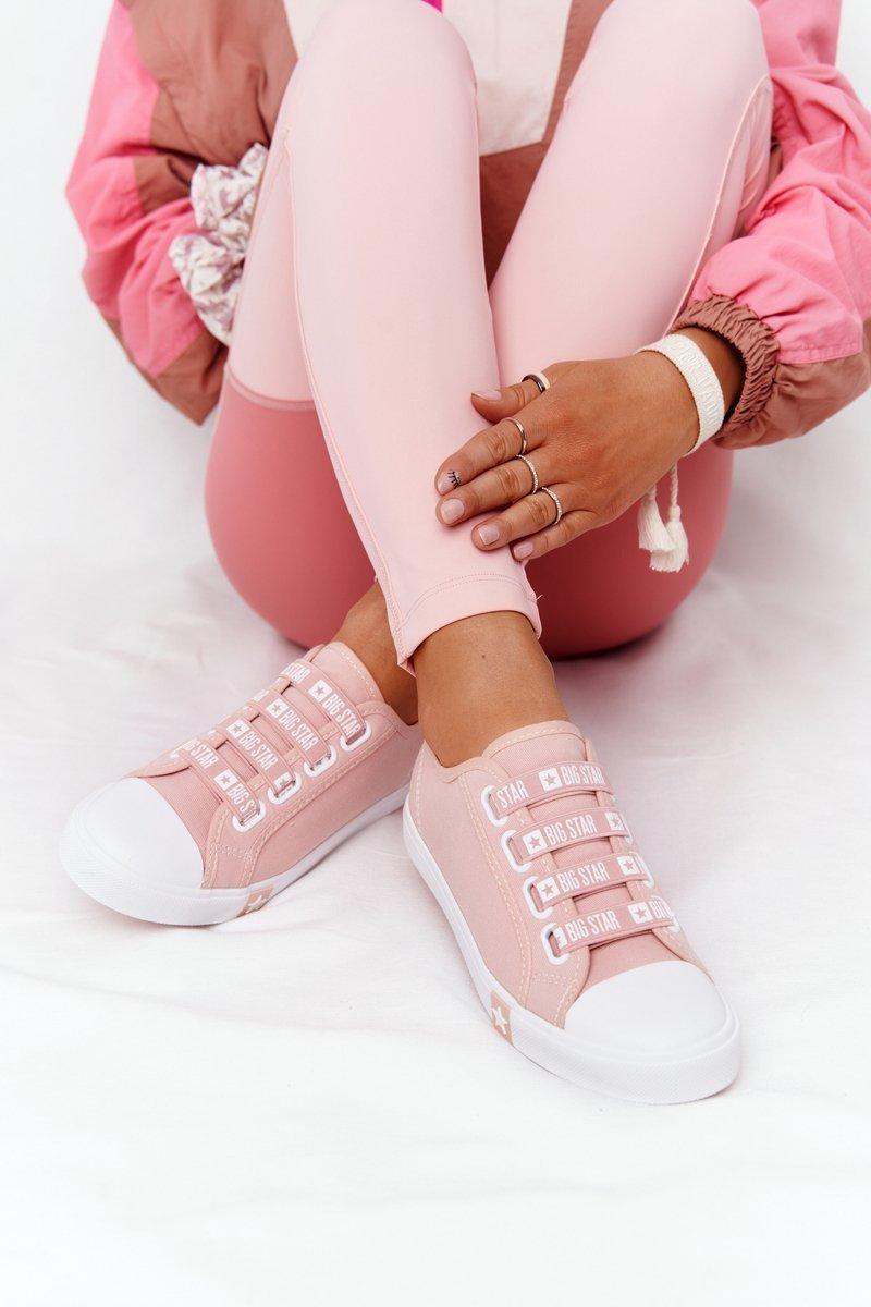 Dámske ružové tenisky - 41