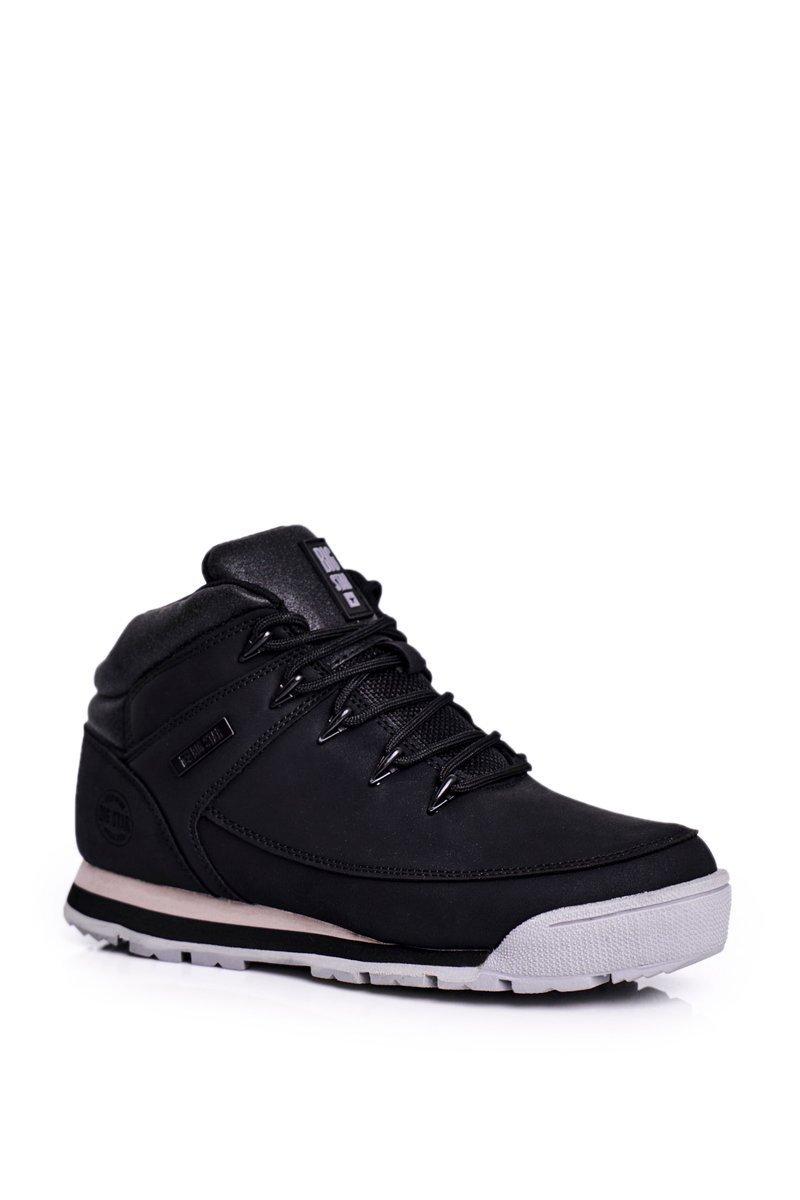 Dámske čierne trekové topánky - 36