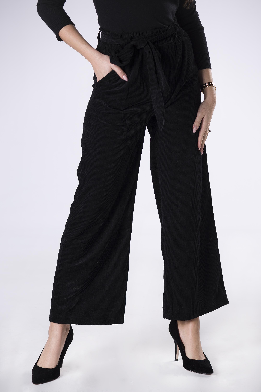 Dámske čierne nohavice - S