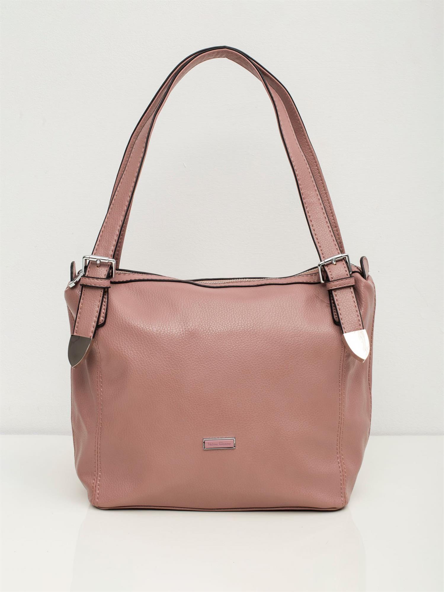 Ružová kabelka s logom - UNI