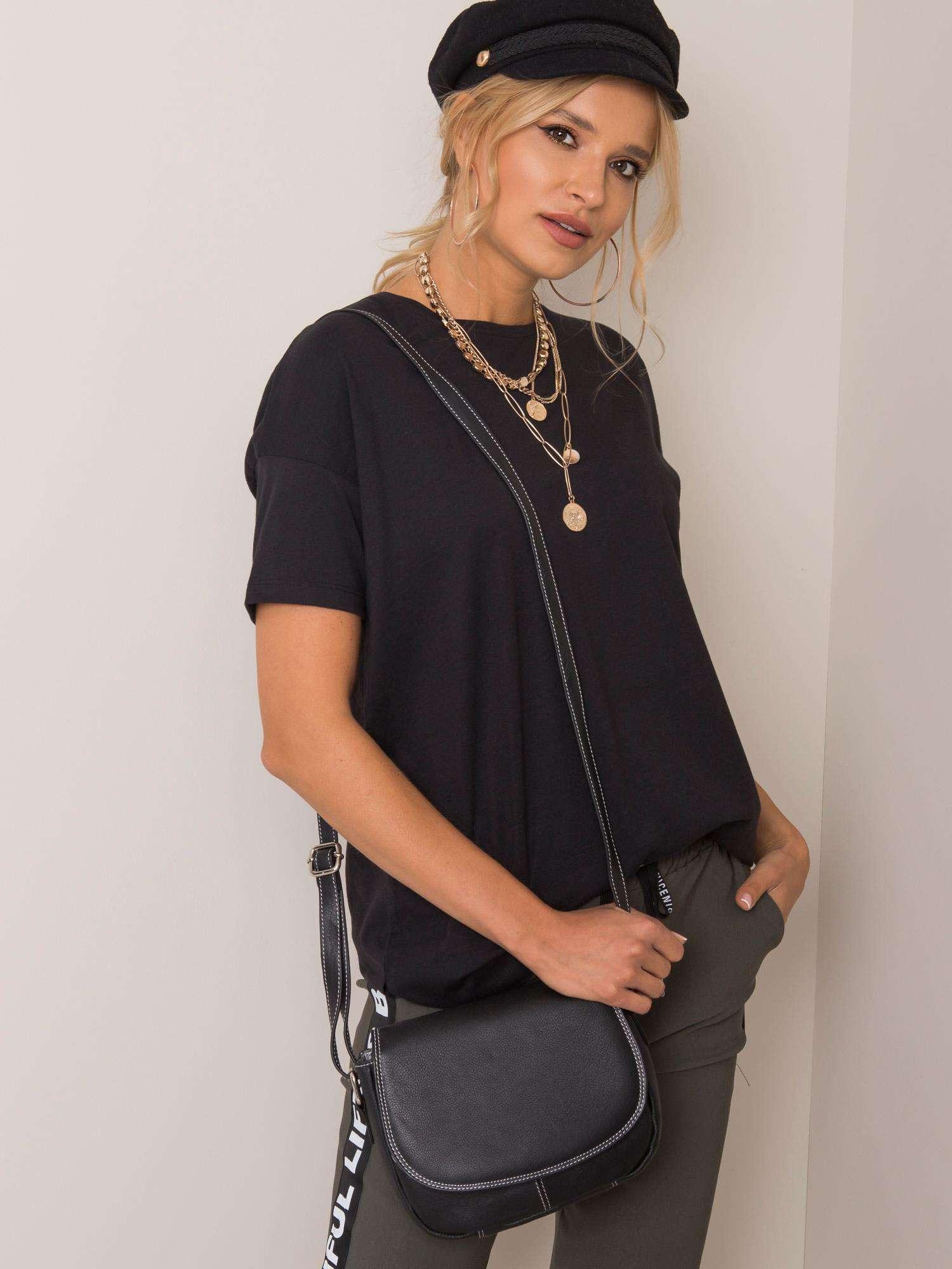 Čierna malá crossbody kabelka - UNI