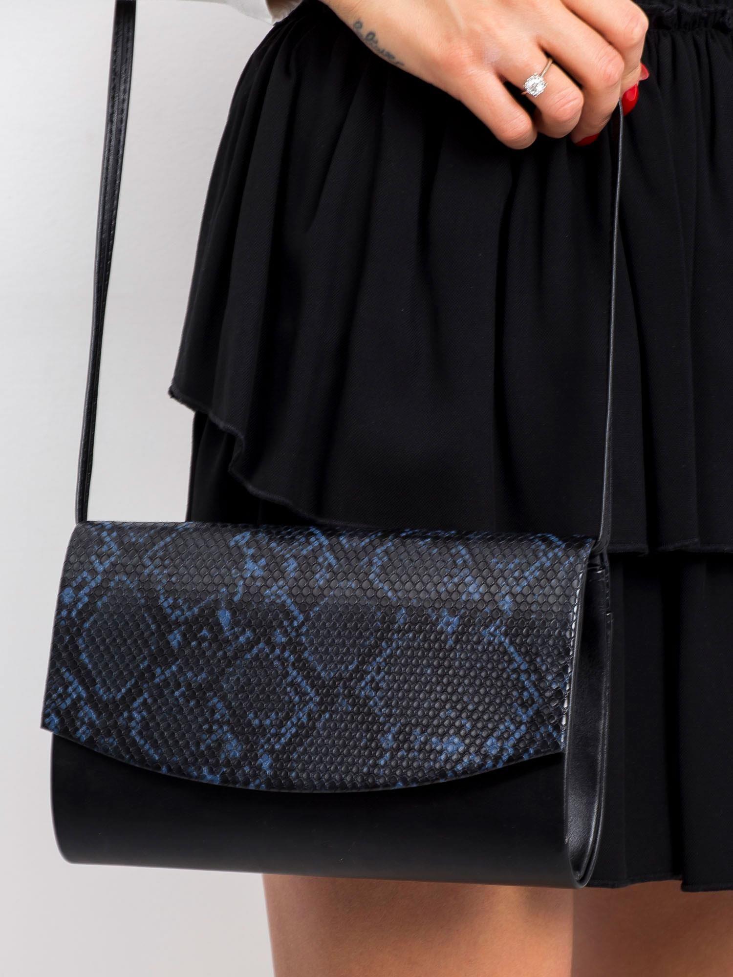 Dámska čierna kabelka - UNI