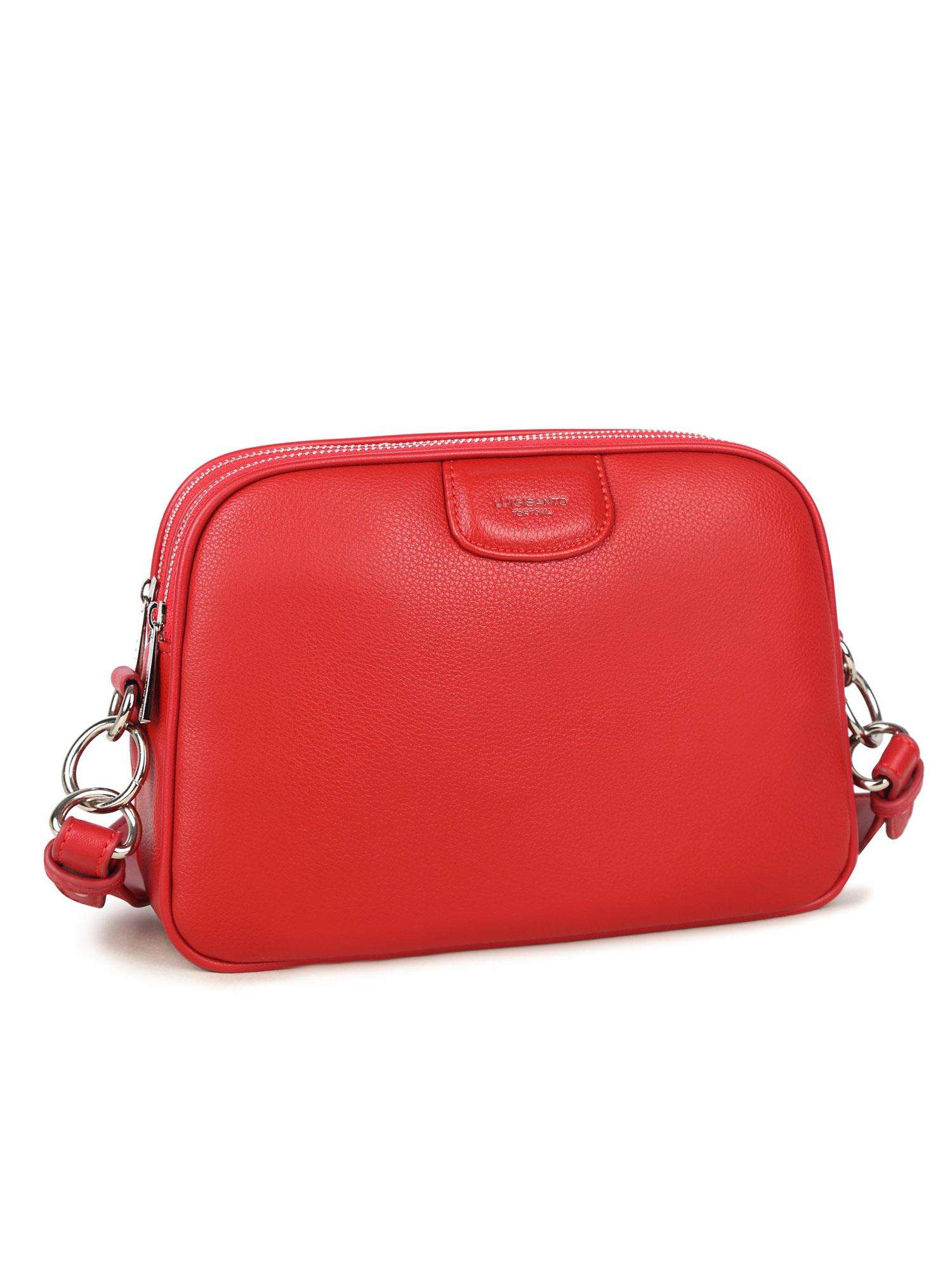 Dámska červená crossbody kabelka - UNI