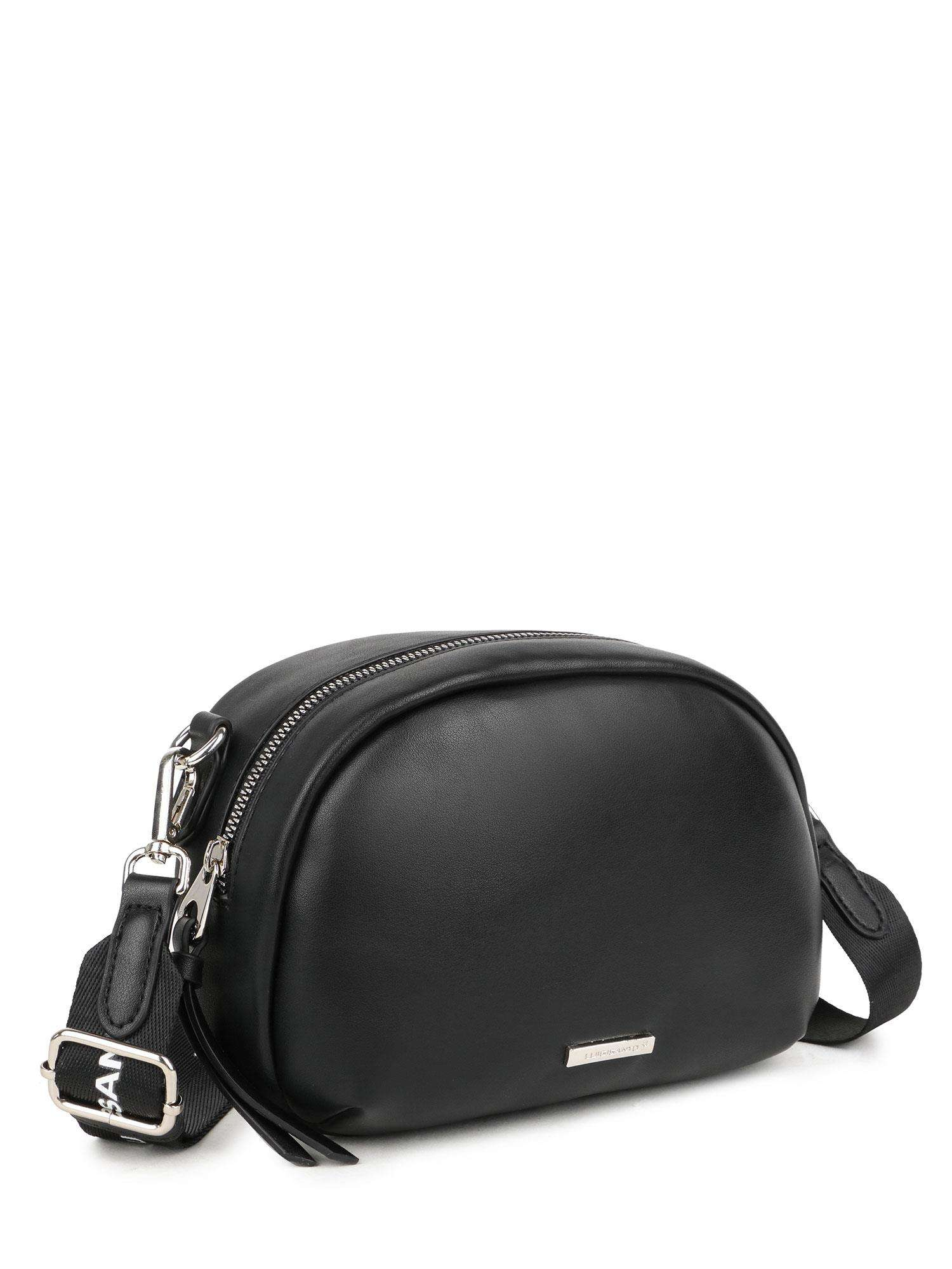 Dámska čierna crossbody kabelka - UNI