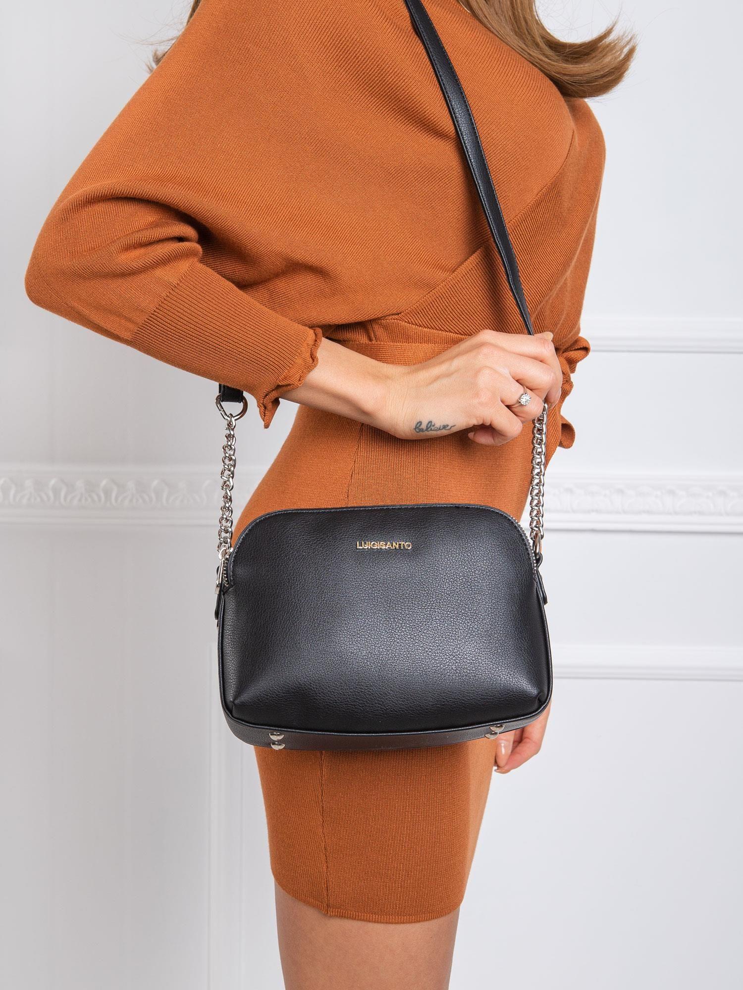 Malá čierna crossbody kabelka - UNI