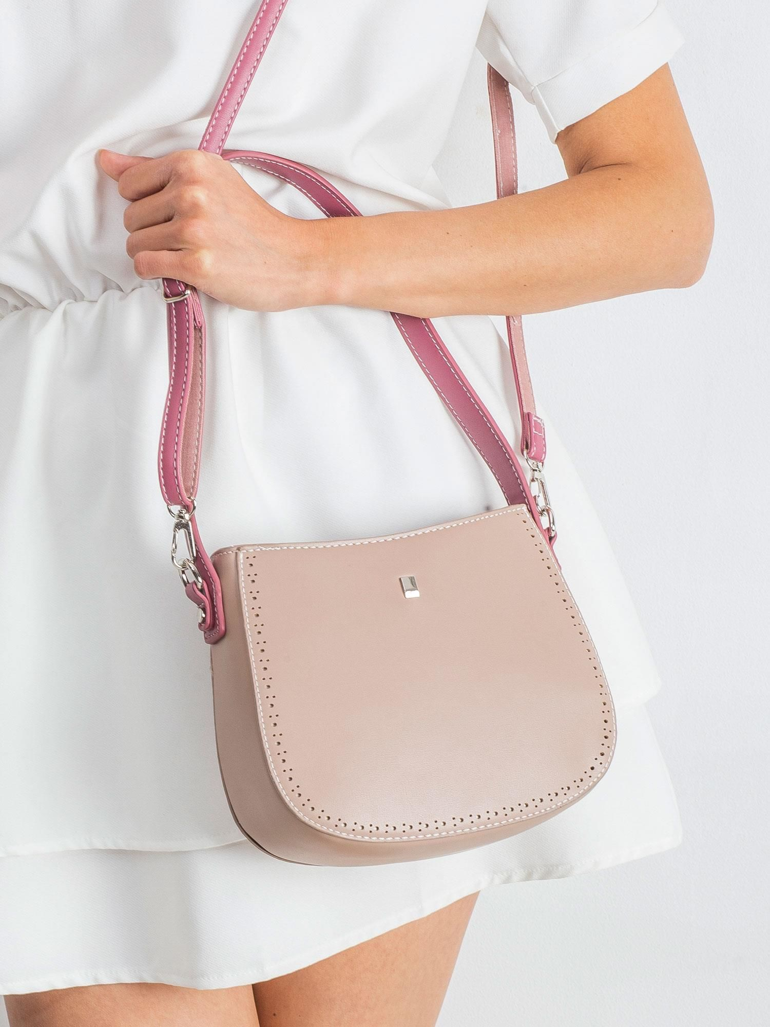 Ružová kabelka na rameno - UNI